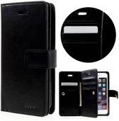 Goospery Luxe PU Leren Wallet iPhone 7/8 - Zwart