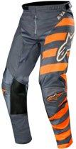 Alpinestars Crossbroek Racer Braap Anthracite/Fluor Orange/Sand-36