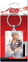 STAR WARS - Metal Keychain - Chewbacca