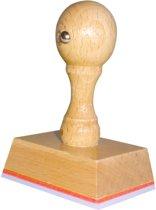 Handstempel 55x40 Mm | Stempel laten maken | Stempel met uw afbeelding en tekst | Bestel nu!