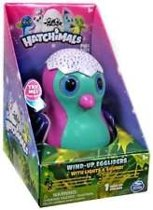 Hatchimals Wind-Up Ei met Licht en Geluid - roze/mint