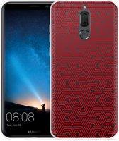 Huawei Mate 10 Lite Hoesje Geometric