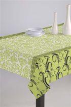 Luxe Stoffen Tafellaken - Tafelkleed - Tafelzeil - Hera Groen - Duurzaam - Hoogwaardig - 140cm x 180cm