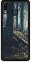 Galaxy M20 Softcase hoesje Dark Forest