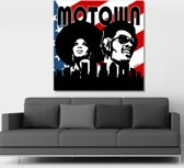 Motown Canvas Art 80/80cm