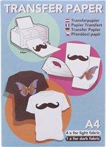Transfer papier voor textiel