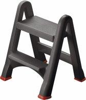 Curver DIY Range Opstapje - Inklapbaar - 49 x 17 x 63 cm - Antraciet