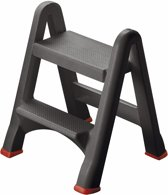 Curver DIY Range Inklapbaar Opstapje - Antraciet - 49x17xh63