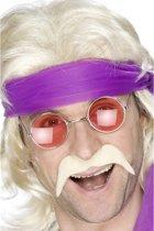 Zelfklevende blonde snor