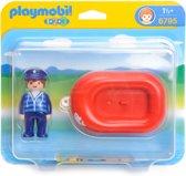 Playmobil 123 Zeeman met rubberboot - 6795