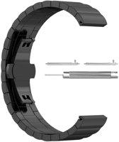 Just in Case RVS bandje - Samsung Gear S3 - zwart
