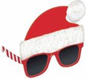 Glasses Santa Hat