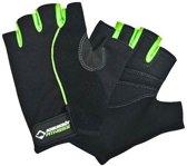 Schildkröt Fitness - Fitnesshandschoenen Comfort - Maat S/M - Zwart/Groen