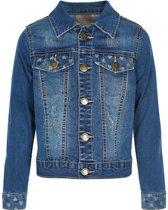 Creamie Herle Jacket blue denim zomerjasje