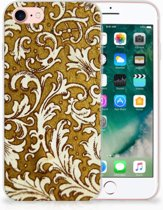iPhone 7 | 8 Siliconen Case Barok Goud