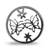 LOCKits 982500529 - Stalen Munt - 25 mm - Zilverkleurig