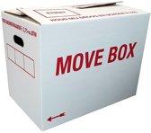 Verhuisdozen Movebox pakket 10 stuks