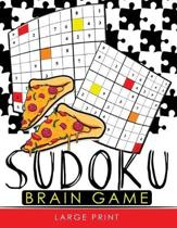 Sudoku Brain Game Large Print: Easy, Medium to Hard Level Puzzles for Adult Sulution inside