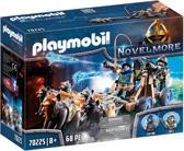 PLAYMOBIL  Novelmore ridders met waterkanon en wolven - 70225
