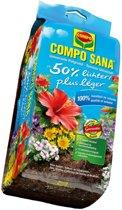 Compo Sana - universele potgrond 50% lichter 25 liter - set van 2 stuks