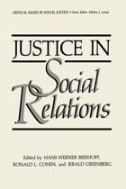 Justice in Social Relations