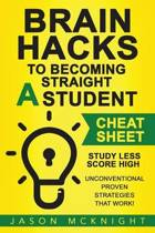 Brain Hacks to Becoming Straight a Student- Cheat Sheet