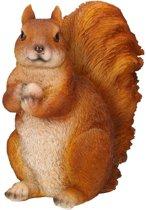 Beeldje van eekhoorn 17 x 12 x 23 cm