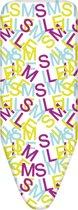 Simpex2005-Strijkplankovertrek - 125X46 cm- Smile