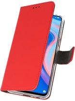 Huawei P Smart Z Rood   Wallet Case Hoesje    WN™