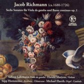 Jacob Richmann: Sechs Sonaten fur Viola da gamba und Basso continuo, Op. 1