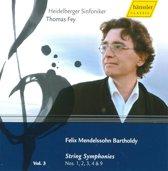 Mendelssohn: String Symph. Vol. 3