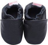 Baby Steps babyslofjes Plain Black Medium