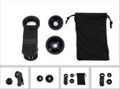 Smartphone Mini Clip Lens Universeel Zwart