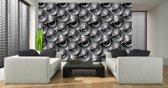 Fotobehang Design | Grijs | 152,5x104cm