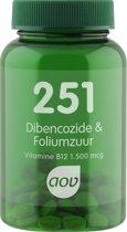 AOV 251 Dibencozide & Foliumzuur - 60 Tabletten - Voedingssupplementen