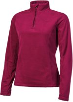 Protest Fleece Top Dames MUTEY Beet RedM/38