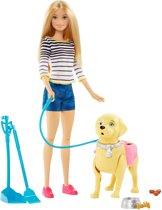 Barbie Wandelen & Trainen Puppy - Barbiepop