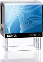 Stempel Colop 20 Blauw | Stempel laten maken | Stempels bestellen met logo en tekst | Afdrukformaat 14 x 38 mm