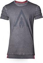 Assassin's Creed: Odyssey - Logo Oil Dye Pintuck T-Shirt - Maat XL