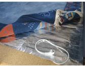Vloerkleed verwarming, Verwarming onder het vloerkleed, Karpetverwarmer 100x450cm-675W