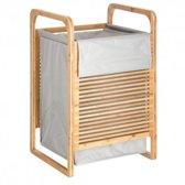 Wasmand Bamboe - Duurzaam - Met katoenen zak