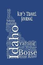 Idaho Kid's Travel Journal