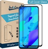 Just in Case Full Cover Tempered Glass voor Huawei Nova 5T - Zwart