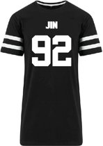 Jin 92 / Kpop BTS T-shirt  / Unisex Maat L / K-Pop / Boyband