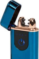 Plasma Lighter Touchscreen Blue
