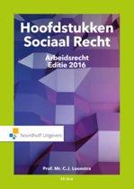 Hoofdstukken Sociaal Recht 2016