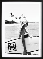 Chanel Surfboard Poster (21x29,7cm) - Fashion - Poster - Print - Wallified