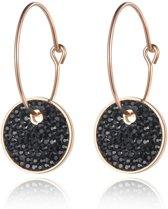 Cilla Jewels Damesoorbellen Black Crystal Storms