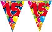 Leeftijd vlaggenlijn 15 jaar