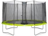 Trampoline EXIT Twist 14 Groen-Grijs 427cm (14ft)